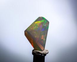 Freeform facet Ethiopian Opal 3.95  Cts. (OP5 )