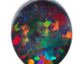 1.90CT SOLID LIGHTNING RIDGE BLACK OPAL  AA213
