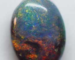 1.25CT SOLID SEMI BLACK LIGHTING RIDGE OPAL AA223