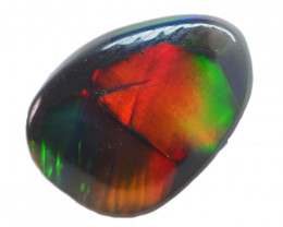 1.50CT SOLID SEMI BLACK LIGHTING RIDGE OPAL AA200
