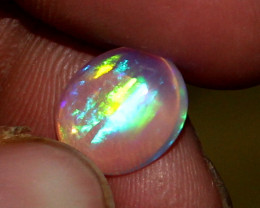 3.05 Crt Natural Ethiopian Welo Fire Opal Cabochon 12