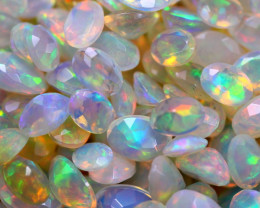27.11Ct Natural Ethiopian Welo Faceted Opal (5x4-7x5mm) D2