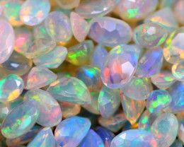 26.64Ct Natural Ethiopian Welo Faceted Opal (5x4-7x5mm) D2