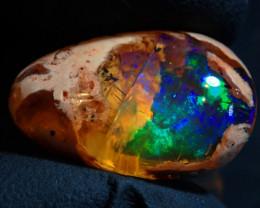 8.29ct Mexican Matrix Cantera Multicoloured Fire Opal Specimen