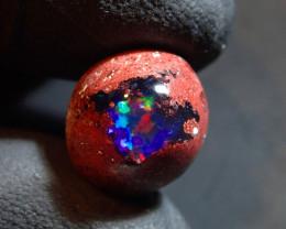 4.45ct Mexican Matrix Cantera Multicoloured Fire Opal