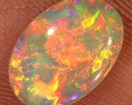0.95ct 11x7.5mm Solid Lightning Ridge Crystal Opal [LO-1439]