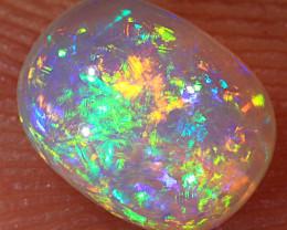 0.7ct 6.5x5mm Crystal Pipe Boulder Opal  [LOB-2477]