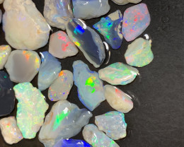 260 Carats of Solid/Natural Lightning Ridge Rough Opal, #169