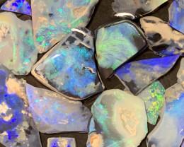 480 Carats of Solid/Natural Lightning Ridge Rough Black /Dark Opal, #171