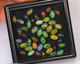 6.74cts Ethiopian Smoked Welo Opal Lot Parcel /F14