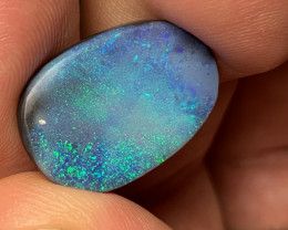 10.1 Carats of Solid/Natural Lightning Ridge Black Opal, #173