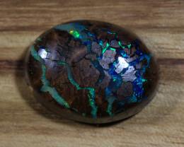 19.25ct- THE RIVER RUNS DEEP- Koroit Boulder Opal [20974]