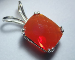 17.79ct Mexican Fire Opal  Opal Pendant