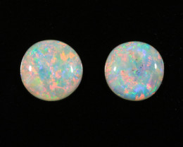 White Opal - Light Opal Pairs