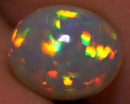 3.50 ct Dark Base!! Top Quality Welo Ethiopian Opal - BA522