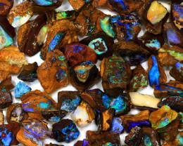 580ct Natural Boulder Koroit Opal Rough Parcel [BRP-071]