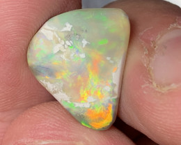 6.3 Carats of Solid/Natural Lightning Ridge Rub Opal, #203