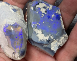 530 Carats of Solid/Natural Lightning Ridge Rough Opal Specimen, #207