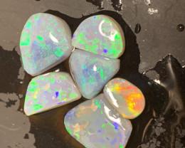 13.9 Carats of Lightning Ridge Clean Rub Opals; # 185