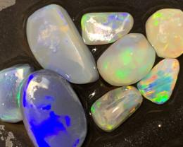 19.5 Carats of Lightning Ridge Clean Rub Opals; # 186