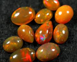 7.20cts 10 PCS Beatiful Color Play Ethiopian Opal