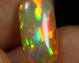 2.80cts Superb Strong Neon Cascade Pattern Natural Ethiopian Welo Opal