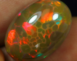 World Class 13.60cts Horror Cell Honeycomb  Pattern Natural Eth Welo Opal