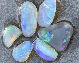 19.3 Carats of Lightning Ridge Clean Rub Opals; # 189