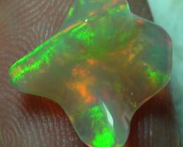 2.85 ct Ethiopian Gem Color Carved Freeform Welo Opal
