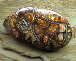 49cts,BOULDER MATRIX OPAL~TOP PATTERN""