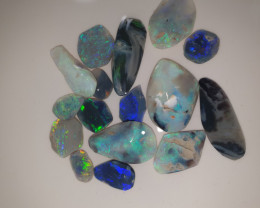 78crt Rubs Lightning Ridge Opal Quality