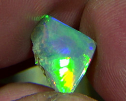 2.35 cts Ethiopian Welo CHAFF crystal opal N9 4/5