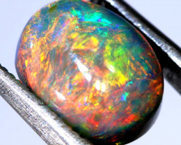 N 4-2.90 CTS QUALITY  DARK OPAL POLISHED STONE INV-1163