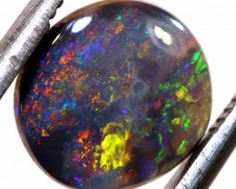 N 4- 1.35CTS QUALITY BLACK OPAL POLISHED STONE INV-1169
