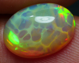 1.85 CR PERFECT HONEYCOMB PATTERN NEON FLASH WELO OPAL*K16*