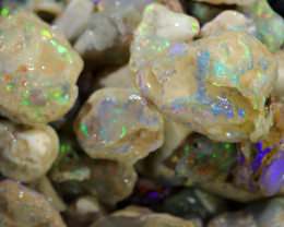 1282.30 CTS GAMBLE  COLOURFUL ROUGH PARCEL FROM LIGHTNING RIDGE[BRP103]