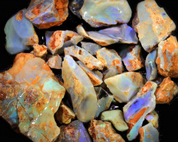 1675.00 CTS GAMBLE ROUGH PARCEL  WITH OPAL DIRT ATTACHED [BRP114]