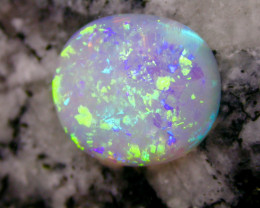 4.34ct VERY 3D EXTR BRIGHT FULLY SATURATED  MULTI PATERN OVAL OPAL