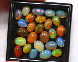 16.49ct Ethiopian Welo Solid Opal Polished Cab Lot /01