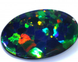 N1 - 20.89CTS QUALITY INVESTMENT BLACK OPAL  STONE INV-