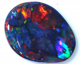 N1 -9.84 CTS QUALITY BLACK OPAL POLISHED STONE INV-1480