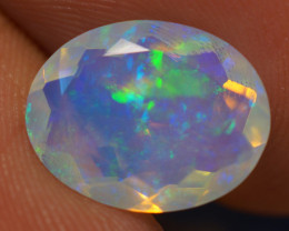 2.40 CT  AAA Quality Welo Faceted Ethiopian Opal - BAF206