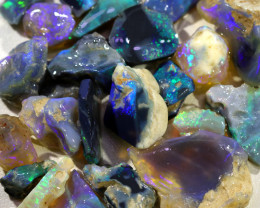 3675.00 CTS COLOURFUL OPAL ROUGH MINE RUN FROM LIGHTNING RIDGE[BRP141]4