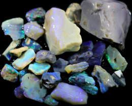 3790.00 CTS COLOURFUL OPAL ROUGH MINE RUN FROM LIGHTNING RIDGE[BRP143]