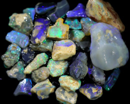 3585.00 CTS COLOURFUL OPAL ROUGH MINE RUN FROM LIGHTNING RIDGE[BRP144]