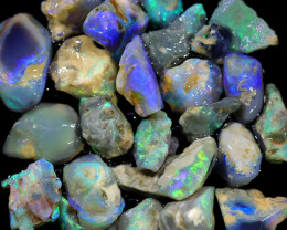 4205.00 CTS COLOURFUL OPAL ROUGH MINE RUN FROM LIGHTNING RIDGE[BRP145]