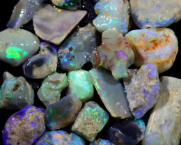 4005.00 CTS COLOURFUL OPAL ROUGH MINE RUN FROM LIGHTNING RIDGE[BRP146]