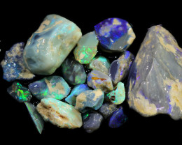 3975.00 CTS COLOURFUL OPAL ROUGH MINE RUN FROM LIGHTNING RIDGE[BRP148]
