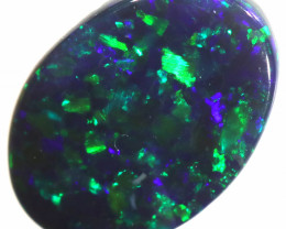 0.45 CTS BLACK OPAL STONE -LIGHTNING RIDGE- [LRO440]