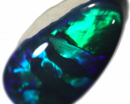 1.14 CTS BLACK OPAL STONE -LIGHTNING RIDGE- [LRO443]